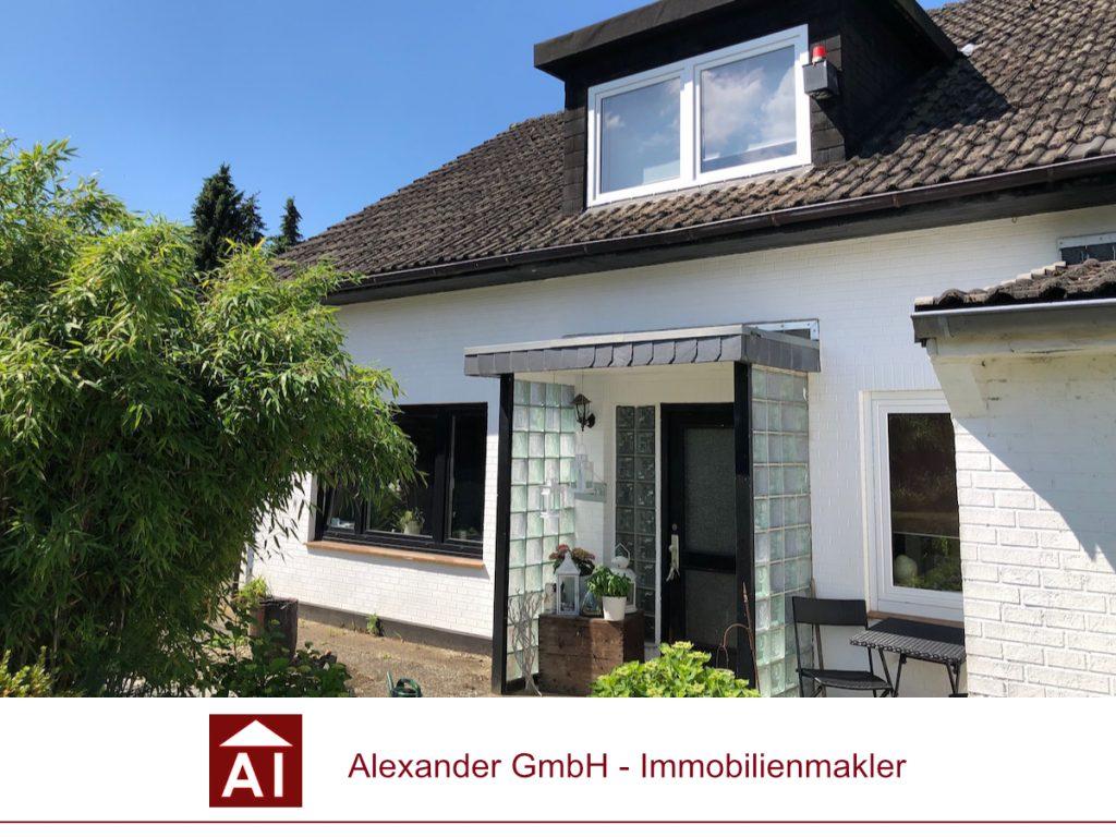 Einfamilienhaus Bramfeld - Alexander GmbH - Immobilienmakler - Immobilienmakler für Bramfeld