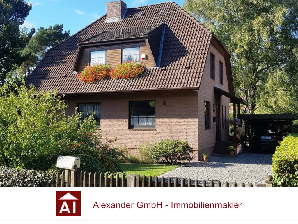 Einfamilienhaus Wandsbek - Alexander Immobilienmakler - Immobilienmakler für Wandsbek
