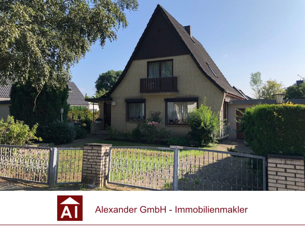Einfamilienhaus - Alexander Immobilienmakler - Immobilienmakler in Farmsen-Berne
