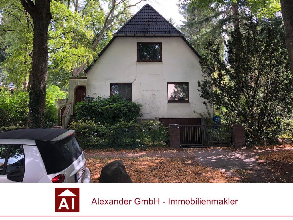 Grundstück Farmsen-Berne - Alexander Immobilienmakler - Ihr Immobilienmakler in Farmsen-Berne