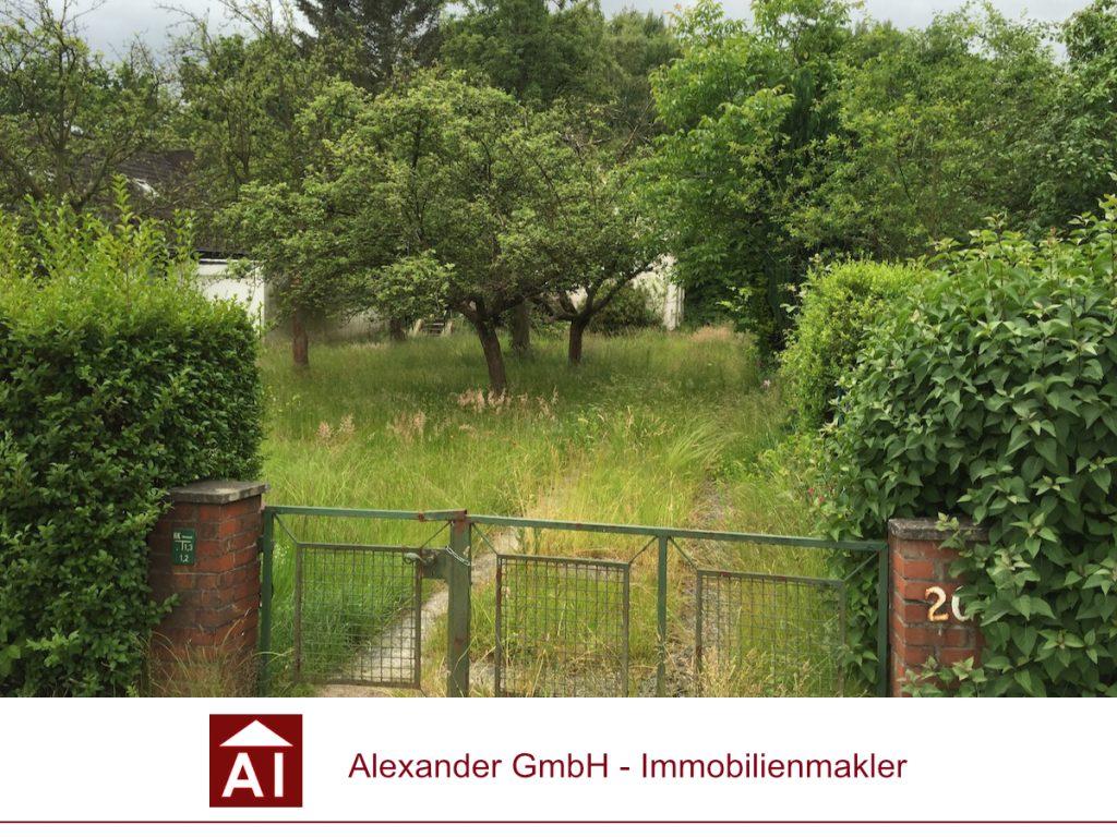 Grundstück Rahlstedt - Alexander Immobilienmakler - Ihr Immobilienmakler für Rahlstedt