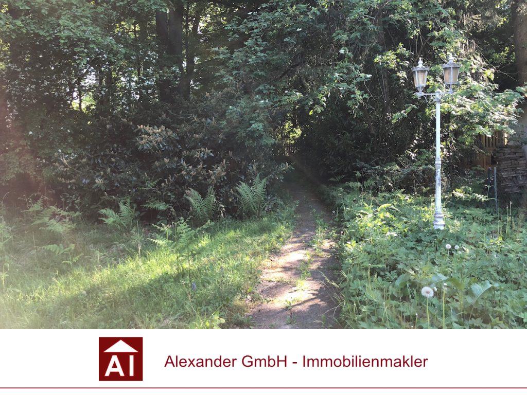 Grundstück Sasel - Alexander Immobilienmakler - Ihr Immobilienmakler für Sasel