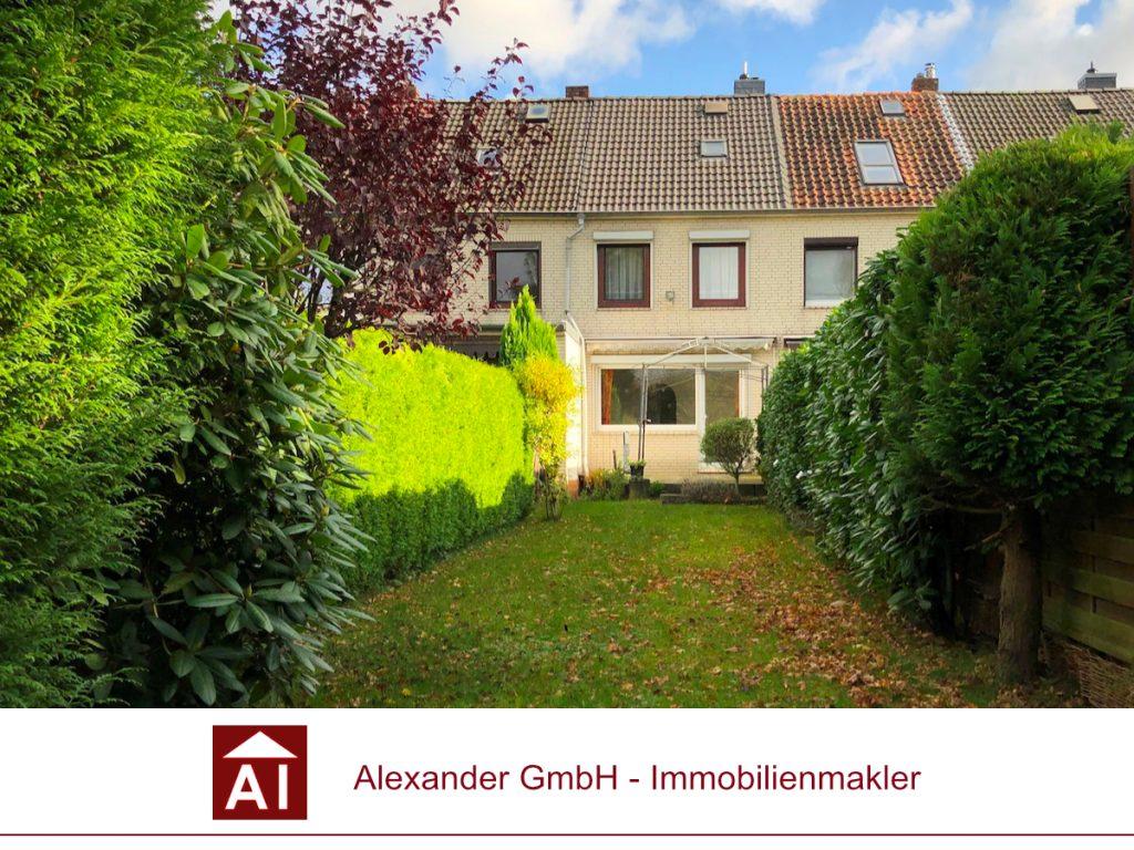 Reihenhaus Farmsen-Berne - Alexander Immobilienmakler - Immobilienmakler in Farmsen-Berne