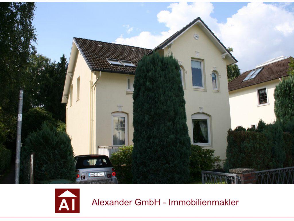 Jugendstilvilla Rahlstedt - Alexander Immobilienmakler - für Rahlstedt