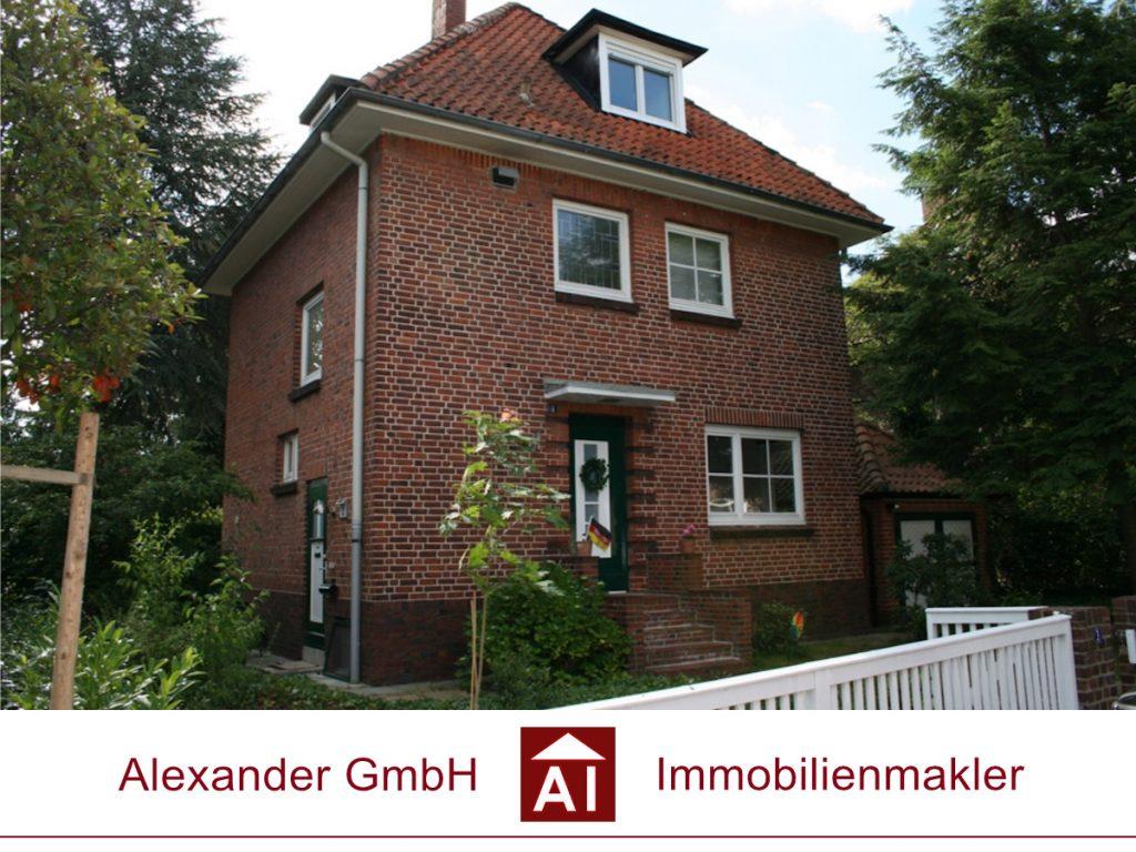 Einfamilienhaus Bergedorf - Alexander GmbH - Immobilienmakler - Immobilienmakler für Bergedorf