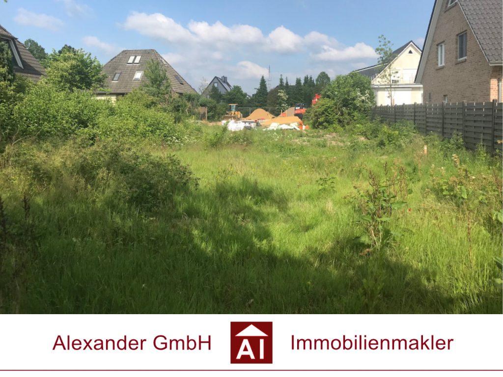 Grundstück Poppenbüttel - Alexander GmbH - Immobilienmakler Hamburg - Ihr Immobilienmakler für Poppenbüttel