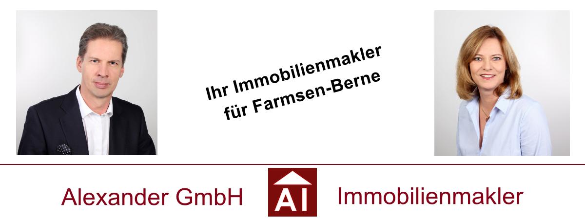Immobilienmakler in Farmsen-Berne - Alexander GmbH -Immobilienmakler Hamburg