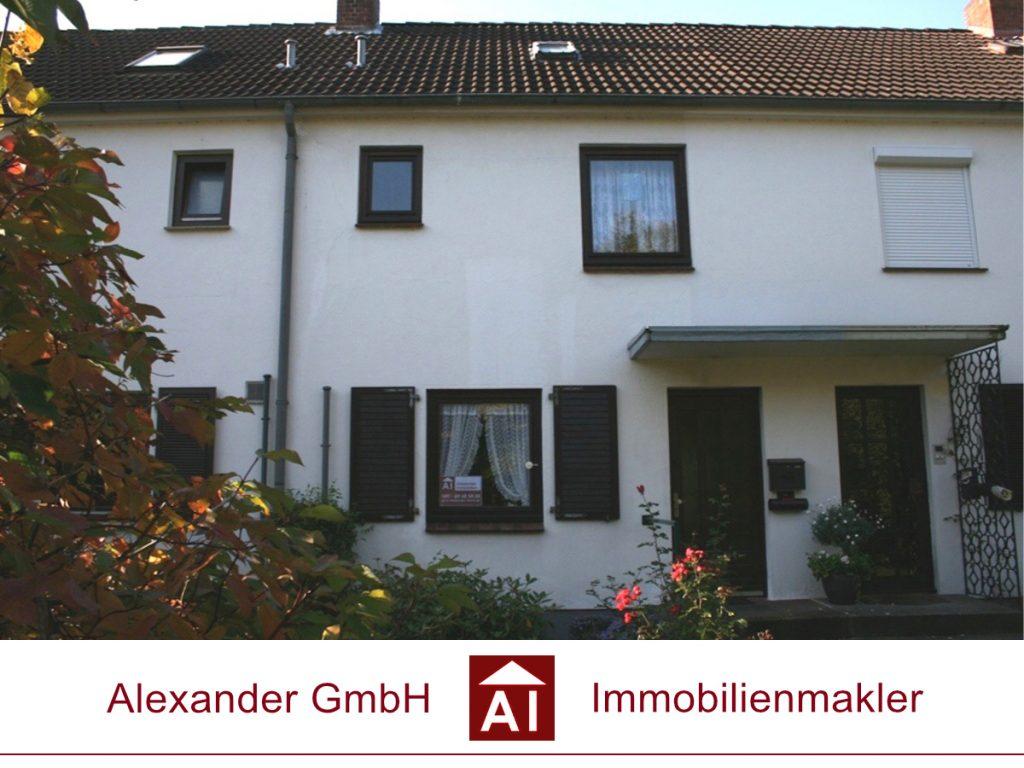 Reihenhaus - Alexander GmbH - Immoblienmakler - Immobilienmakler in Farmsen-Berne