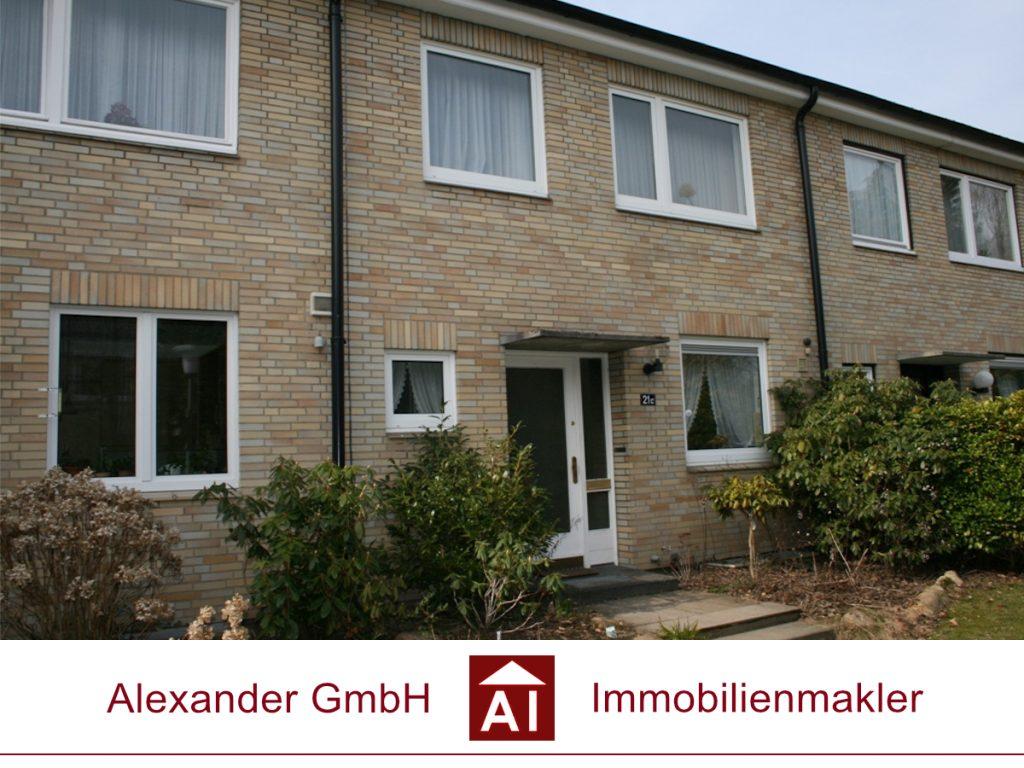 Reihenhaus Volksdorf - Alexander GmbH - Immobilienmakler - Immobilienmakler für Volksdorf