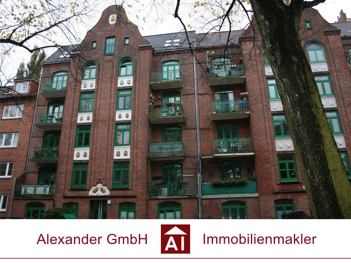 Eigentumswohnung Barmbek - Alexander GmbH- Immobilienmakler Hamburg - Immobilienmakler für Barmbek