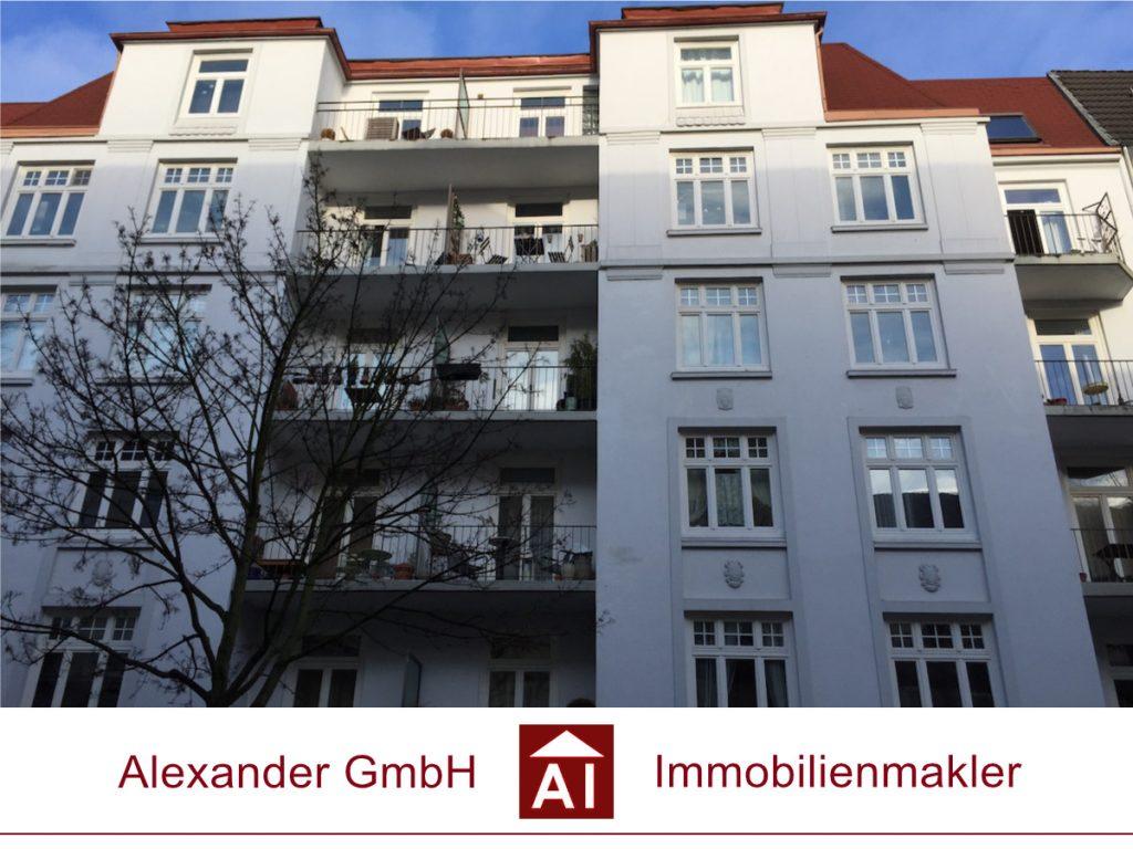 Eigentumswohnung Winterhude - Alexander GmbH- Immobilienmakler - Immobilienmakler für Winterhude