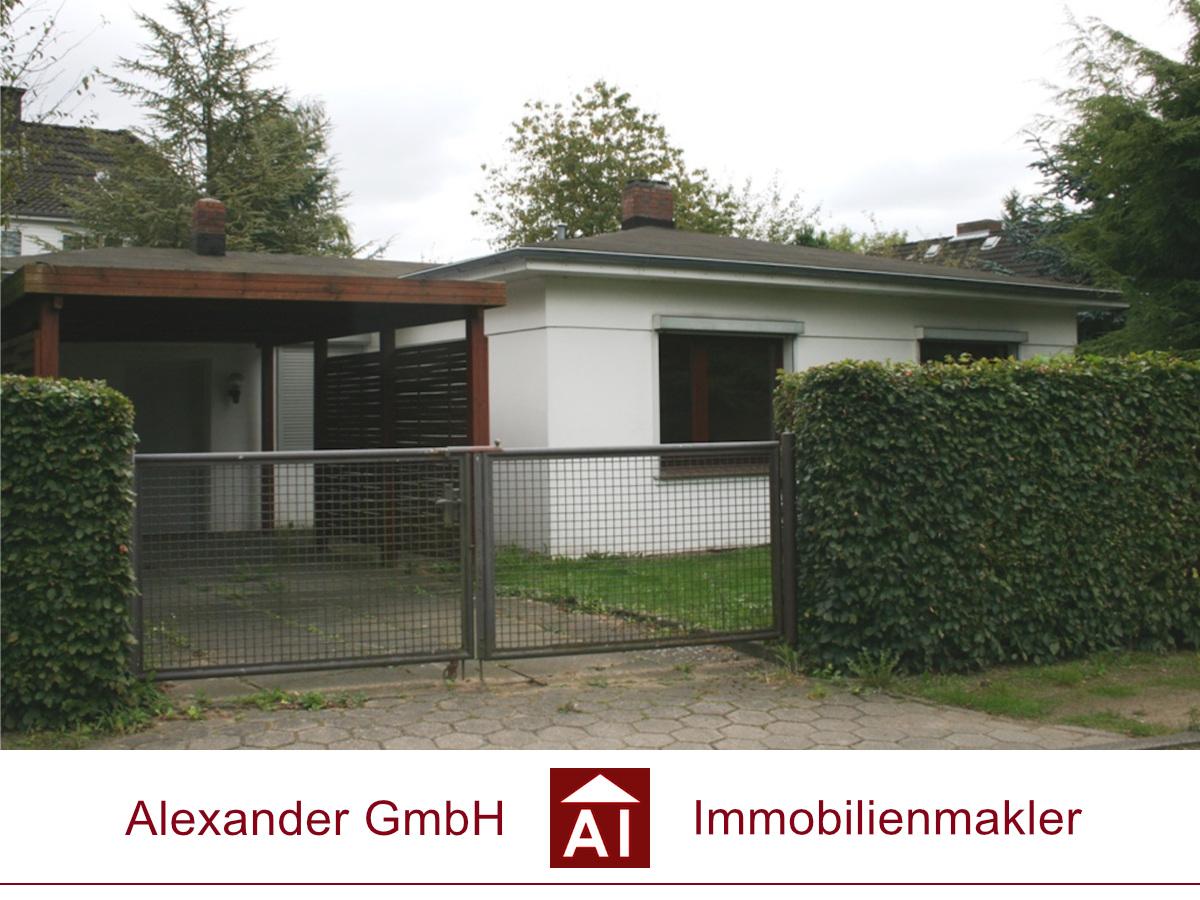 Einfamilienhaus Hummelsbüttel - Alexander GmbH - Immobilienmakler Hamburg - Immobilienmakler für Hummelsbüttel