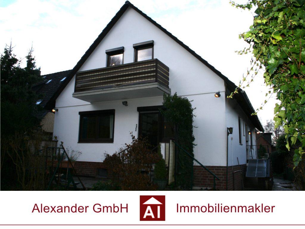 Einfamilienhaus Wandsbek - Alexander Immobilienmakler Hamburg - Immobilienmakler für Wandsbek