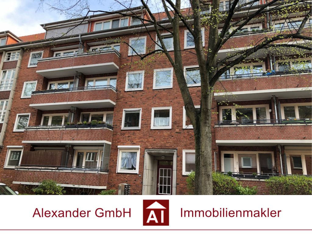 Eigentumswohnung Eilbek - Alexander GmbH Immobilienmakler Hamburg - Immobilienmakler für Eilbek