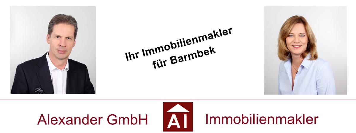 Immobilienmakler für Barmbek - Alexander GmbH - Immobilienmakler Hamburg