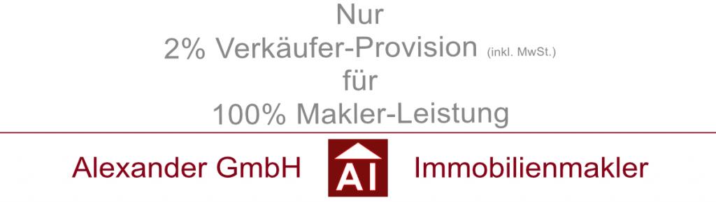 Alexander GmbH - Immobilienmakler Hamburg - Maklerprovision