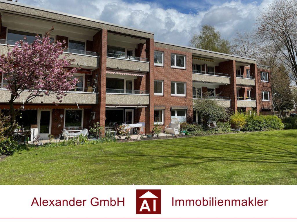 Wohnung am Kupferteich in Farmsen-Berne - Alexander Immobilienmakler - Immobilienmakler in Farmsen-Berne