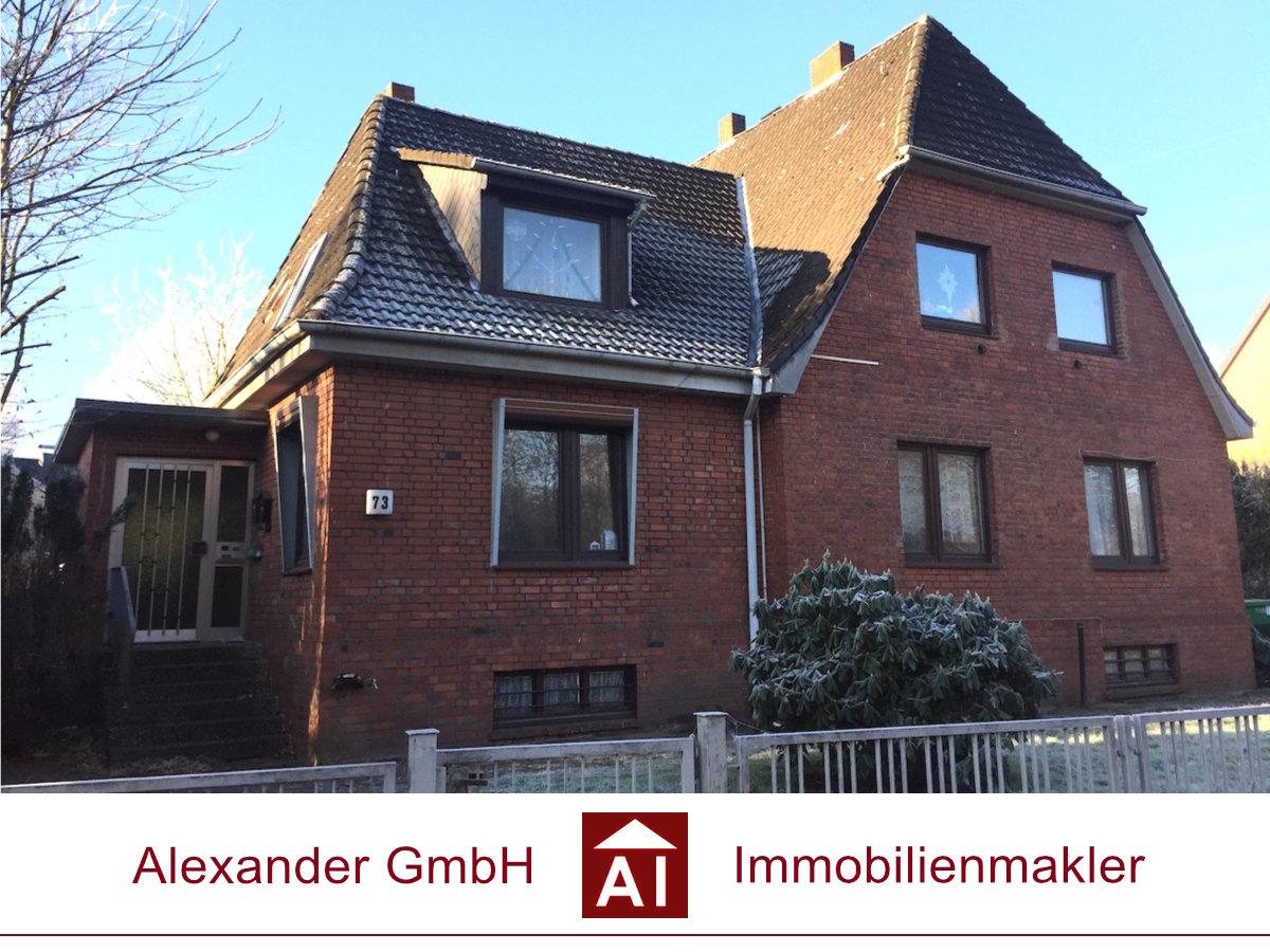 Zweifamilienhaus Jenfeld - Alexander Immobilienmakler - Immobilienmakler für Jenfeld